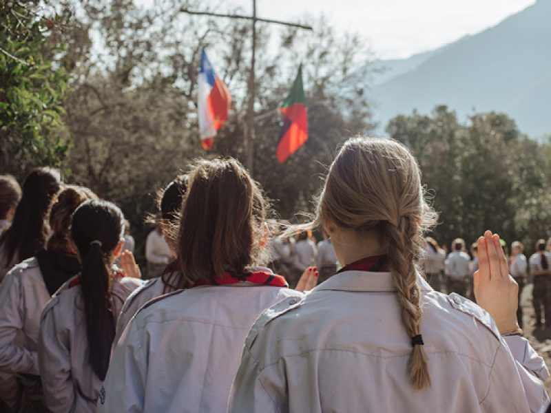 Scout grupo mujeres